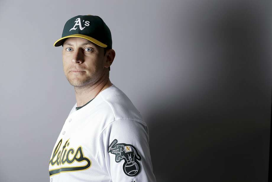 This is a 2016 photo of Jed Lowrie of the Oakland Athletics baseball team. This image reflects the Oakland Athletics active roster as of Monday, Feb. 29, 2016, when this image was taken. (AP Photo/Chris Carlson) Photo: Chris Carlson, AP