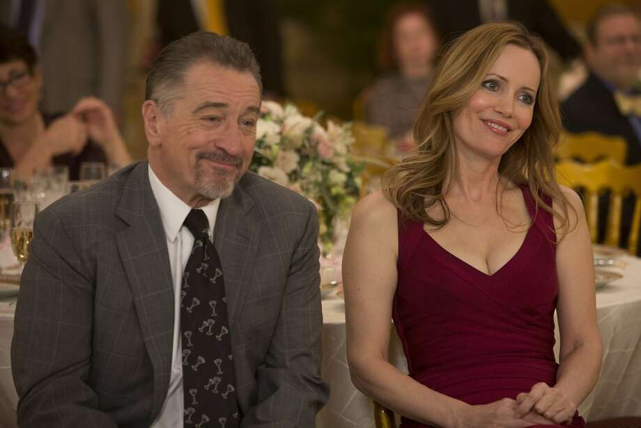 Opposite Robert De Niro, Leslie Mann more than holds her own as a woman with anger problems and father issues. Danny DeVito, Patti LuPone and Edie Falco are also in the cast of Taylor Hackford's film. Photo: Alison Cohen Rosa, Associated Press