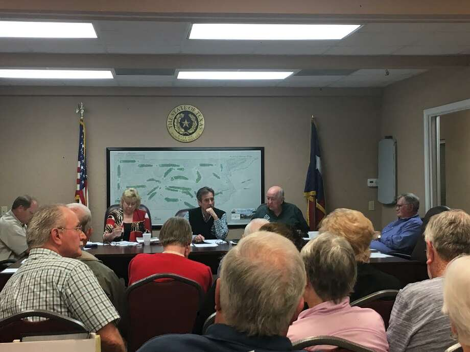 Panorama Village residents swayed the city council to vote no Tuesday on a  variance that would have allowed All-Star Catering to open a kitchen on a      residential property. Photo: Meagan Ellsworth