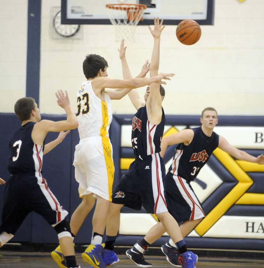 USA 56, Bad Axe 37USA 56, Bad Axe 37 Photo: Paul P. Adams/Huron Daily Tribune