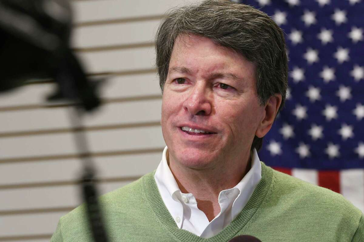 John Faso, (R-Kinderhook), who on Tuesday won the 19th Congressional District race, answers questions from the media at his headquarters on Wednesday, Nov. 9, 2016 in Hudson, N.Y. (Lori Van Buren / Times Union)