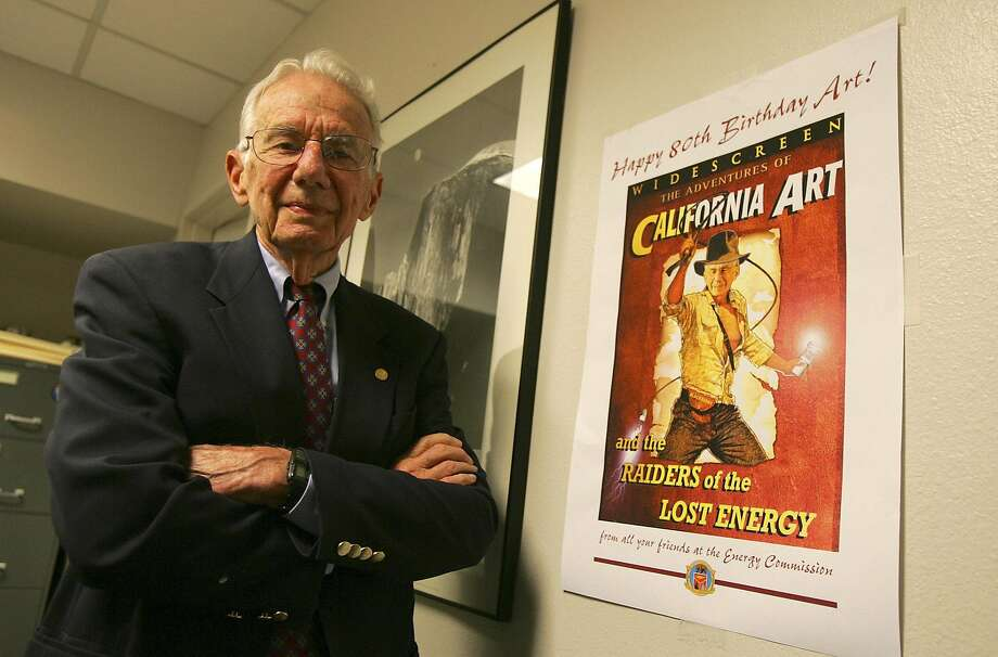 Arthur Rosenfeld, regarded as the father of energy efficiency, had a profound impact on California's requirements and saved Americans billions of dollars. Photo: JIM WILSON, NYT