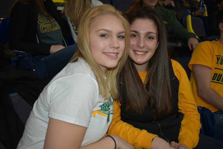 Were you Seen at the Siena College basketball game vs. Iona at the Times Union Center in Albany on Friday, January 27, 2017? Photo: Shelby Wadsworth
