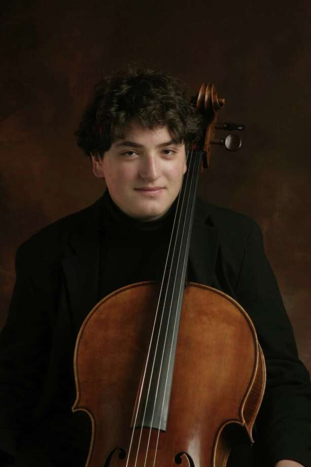 Cellist Julian Schwarz performed two pieces with the San Antonio Symphony on Friday night at the Tobin Center for the Performing Arts. Photo: Courtesy