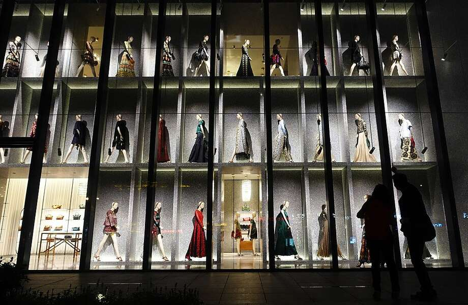 A shop window in Shanghai. Photo: Getty Images, Johannes Eisele / AFP