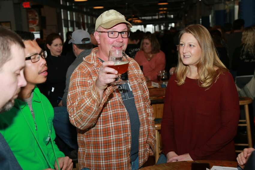 Two Roads Brewing Company in Stratford held a bottle release party on January 28, 2017 for Igor's Dream beer. Were you SEEN?
