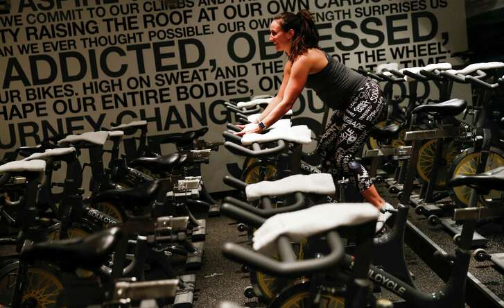 SoulCycle instructor Chanelle Lagace, who is entering her third trimester, hopes to keep cycling for the entirety of her pregnancy.