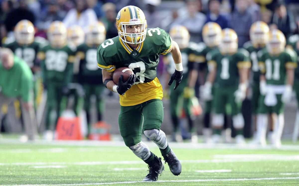 Trinity Catholic running back Jonmichael Bivona amassed 1,177 yards of total offense and 11 touchdowns.