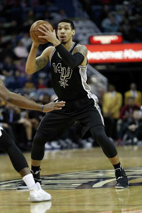 San Antonio Spurs guard Danny Green (14) in the first half of an NBA basketball game in New Orleans, Friday, Jan. 27, 2017. (AP Photo/Tyler Kaufman) Photo: Tyler Kaufman, FRE / Associated Press / FR 170517AP