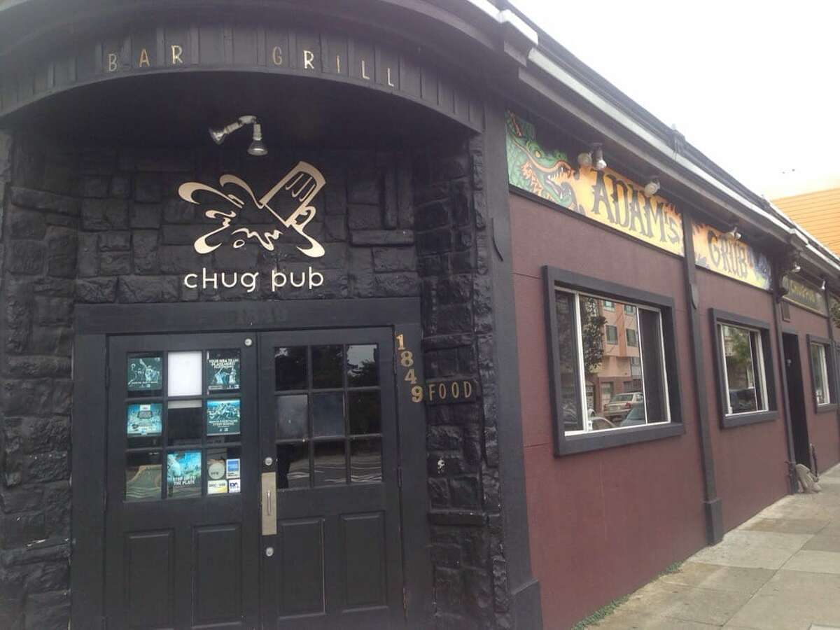 20. Chug Pub, Outer Sunset  1849 Lincoln Way  San Francisco, CA 94122