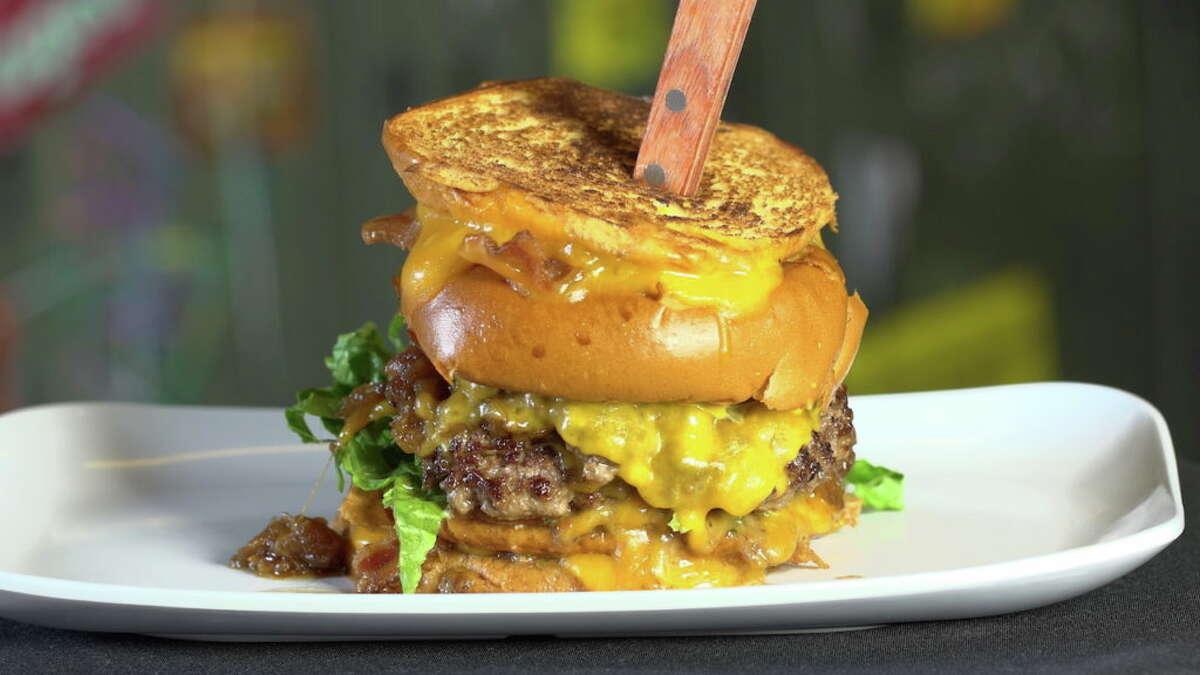 Top 100 Best Burgers: Bernie's Burger BusCuisine:American Entree price:$-$$ Phone:Katy: 281-394-9006; Bellaire, 713-349-9400; Heights 713-867-8600 Website:berniesburgerbus.com Read Alison Cook'sreview of Bernie's Burger Bus