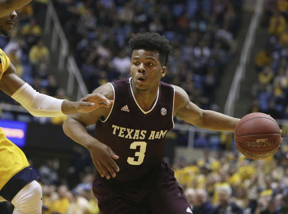 Admon Gilder had 20 points, six rebounds and five assists in Texas A&M's win over LSU. Photo: Ray Thompson/Associated Press