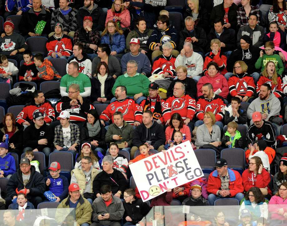 The Albany Devils will be relocating to Binghamton, ending a 24-year-association between Albany and the American Hockey League, and continuing a tumultuous run for professional sports teams in the Capital Region. Photo: Hans Pennink / Hans Pennink