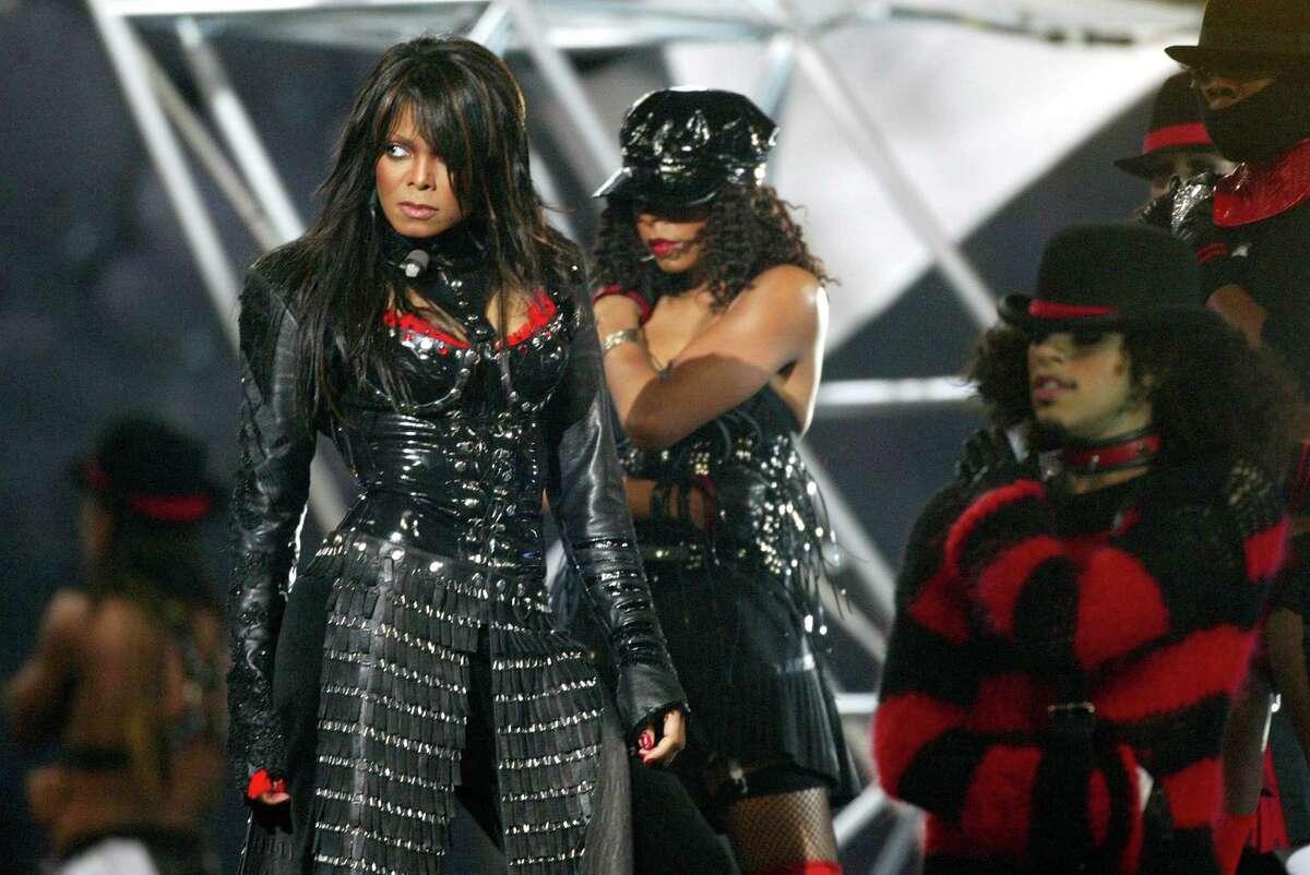 2004: Janet Jackson's half- time show was unforgettable.