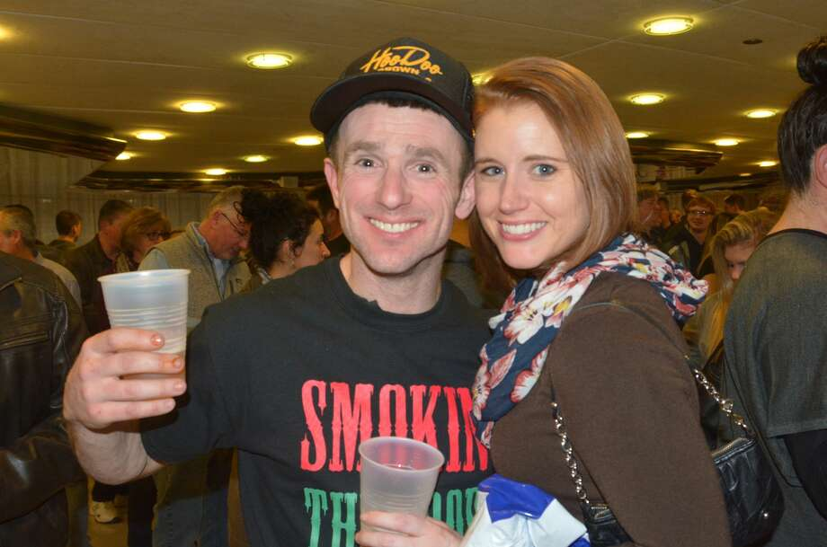 The third annual Connecticut Wingfest was held at the Matrix Center in Danbury on January 28, 2017. Attendees sampled chicken wings from local restaurants who competed for the title of Connecticut's Best Wings. Were you SEEN? Photo: Vic Eng / Hearst Connecticut Media Group