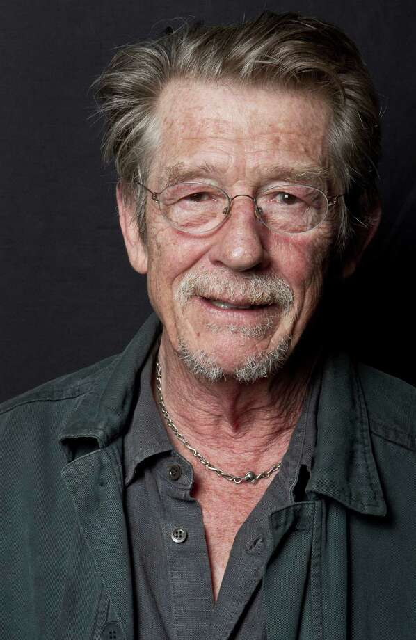"File- This Sept. 6, 2011, file photo shows British actor John Hurt posing for portraits at the Venice Film Festival Movie Star Lounge after interviews for the film ""Tinker Tailor Soldier Spy,"" during the 68th edition of the Venice Film Festival in Venice, Italy. The great and versatile actor Sir John Hurt, who could move audiences to tears in ""The Elephant Man,"" terrify them in ""Alien,"" and spoof that very same scene in ""Spaceballs,"" has died at age 77.  Hurt, who battled pancreatic cancer, passed away Friday, Jan. 27, 2017, in London according to his agent Charles McDonald. (AP Photo/Joel Ryan, File) ORG XMIT: NYSH302 Photo: Joel Ryan / AP2011"