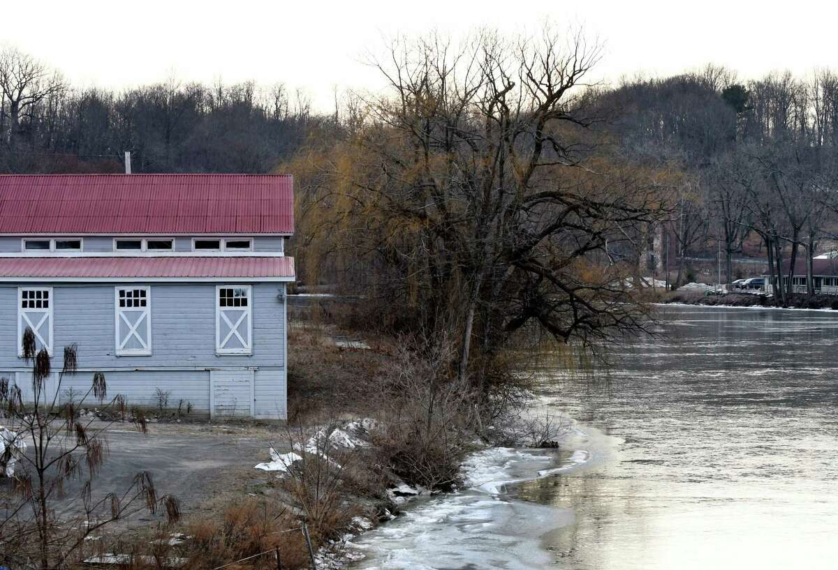 Exterior of buildings at the Lumberyard on Tuesday, Jan. 10, 2017, on the Catskill Creek in Catskill, N.Y. The Lumberyard, formerly the American Dance Institute, is converting a former lumberyard in the heart of the village of Catskill into its summer home, due to open in spring 2018. The multimillion-dollar project will bring jobs and dance companies and is part of a growing cultural identity for Catskill. (Will Waldron/Times Union)