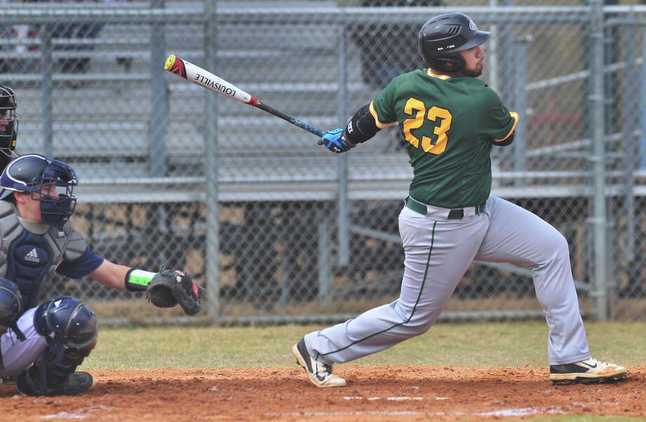 The Laredo Community College Palomino baseball team opened up their season by winning three of four games against Coastal Bend College Friday, Jan. 27 and Saturday, Jan. 28, 2017 at the LCC South Campus Recreation Complex. Photo: Cuate Santos