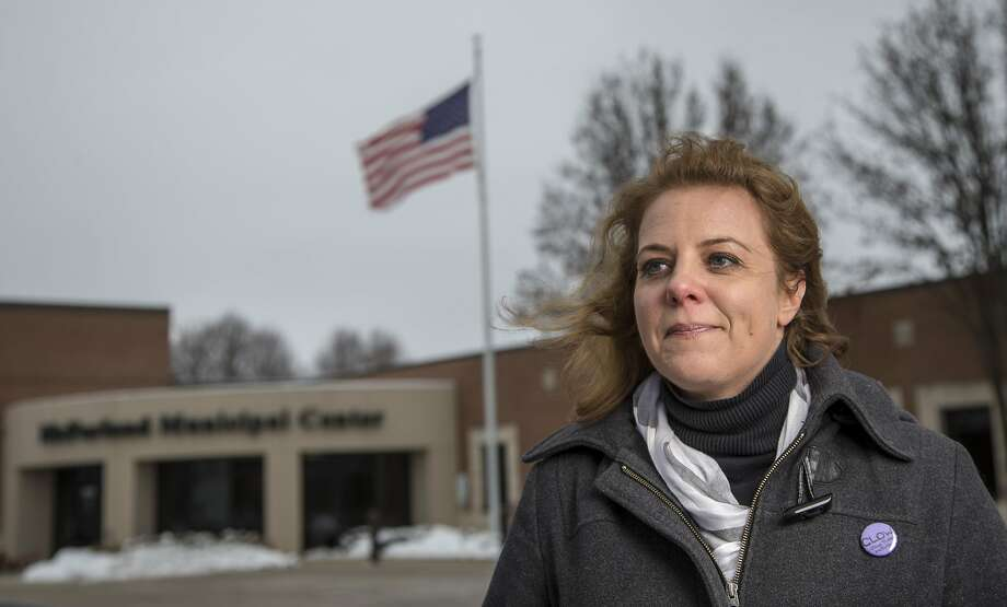 Purchasing agent Carolyn Clow, who is running for a seat on the village board in McFarland, Wis., is taking classes on how to run for office. Photo: Andy Manis, Associated Press