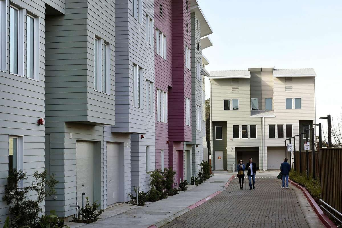 Habitat for Humanity of Greater San Francisco unveiled new low income homes in the Oceanview neighborhood of San Francisco, CA on Saturday, January 28, 2017.