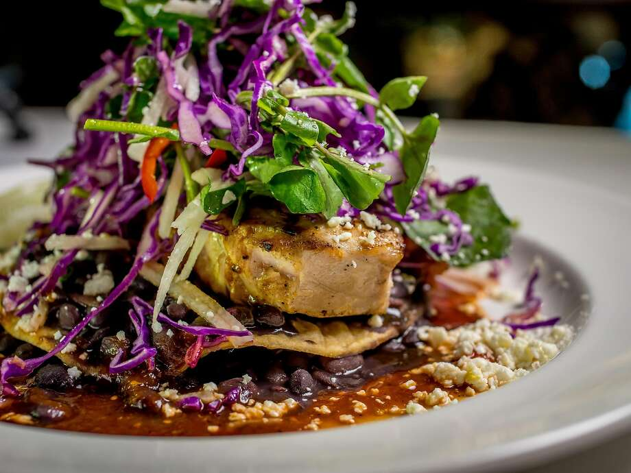 Opah seafood tostada at Mustards Grill in Napa. Photo: John Storey, Special To The Chronicle