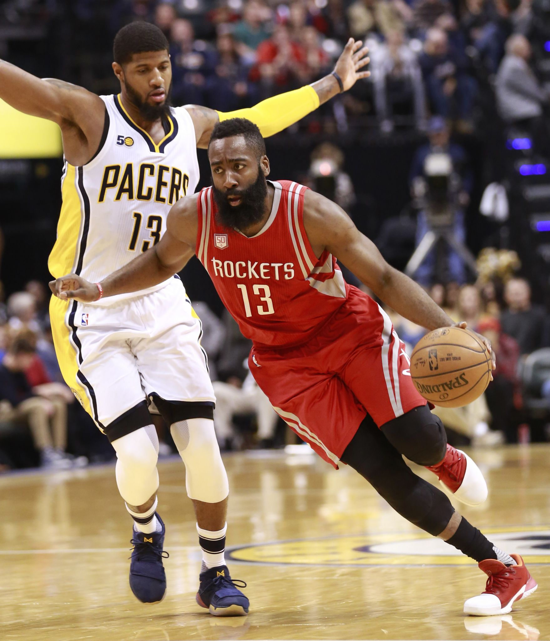 James Harden Nba Records: Pacers' Paul George Shines In Matchup Vs. James Harden