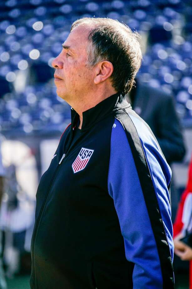 SAN DIEGO, CA - JANUARY 29:  Head coach Bruce Arena of the United States looks on during pregame warm-ups prior to their match against Serbia at Qualcomm Stadium on January 29, 2017 in San Diego, California.  (Photo by Kent Horner/Getty Images) Photo: Kent Horner, Getty Images