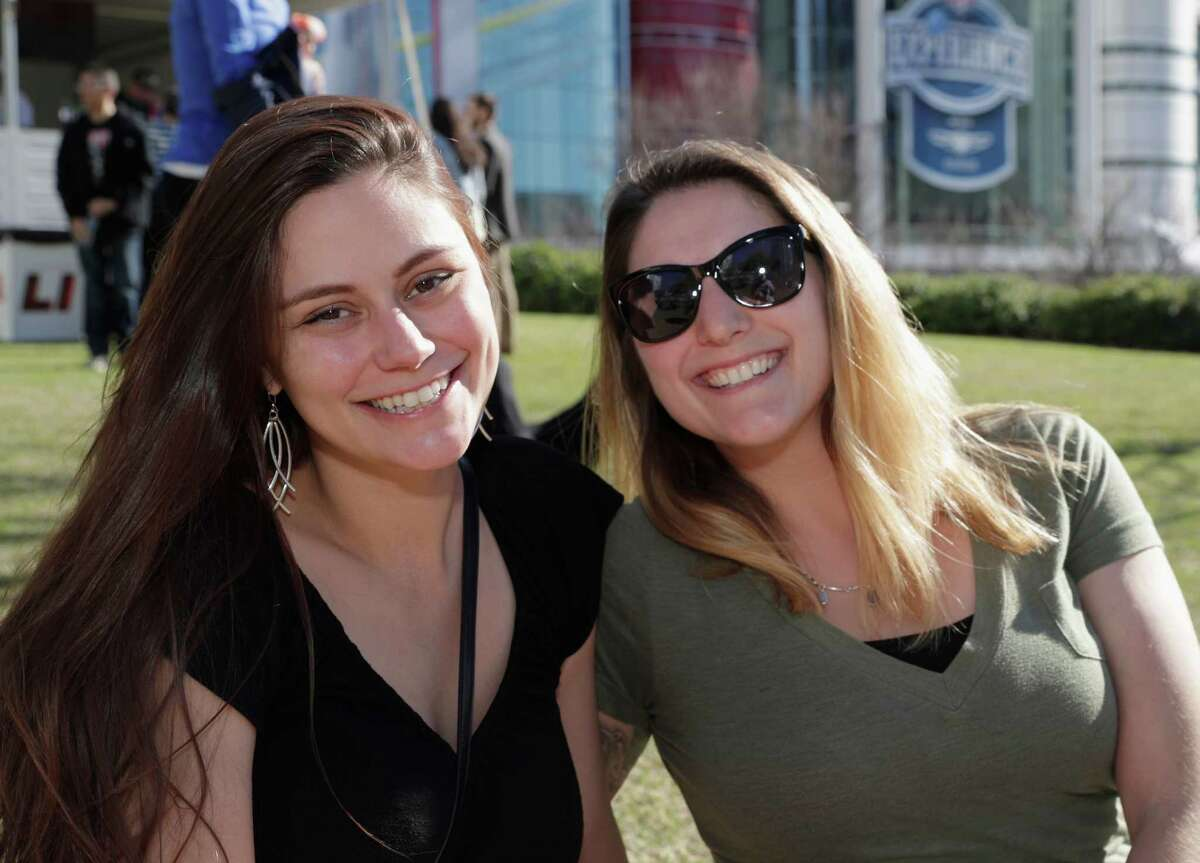 Fans enjoy Super Bowl LIVE at Discovery Green in downtown Houston on Sunday, January 29, 2017