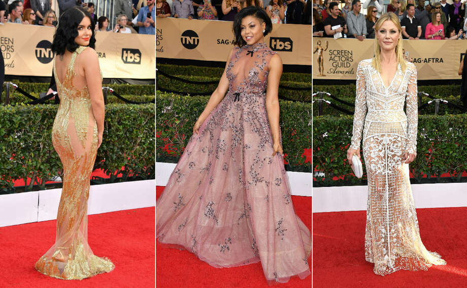 The celebrities in attendance at the Screen Actors Guild Awards didn't fail to bring fans fashion and style on the red carpet Sunday. Continue clicking to see the best and worst outfits of this year's SAG Awards. Photo: Getty Images