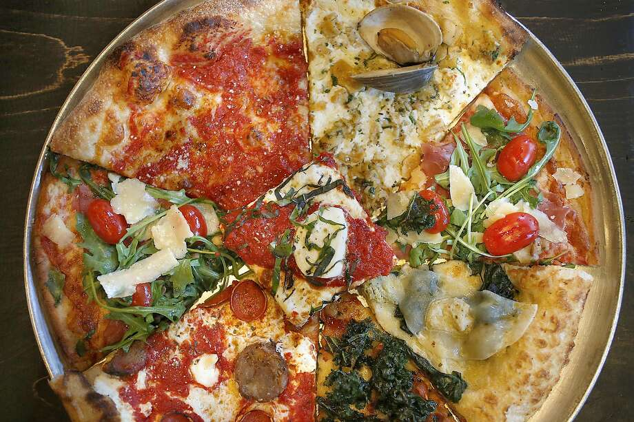 This sampling of various pizza styles is by no means exhaustive. Photo: Liz Hafalia, The Chronicle