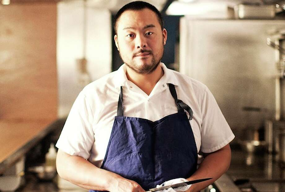 David Chang, the chef/founder of Momofuku restaurant group and multiple James Beard Award winner was in Houston over the weekend and was the guest at a crawfish boil at Underbelly on Sunday, Jan. 29. Chang is shown here from Momofuku's Instagram account Photo: Momofuku Instagram / Only use an image permitted by Akira Yamada.