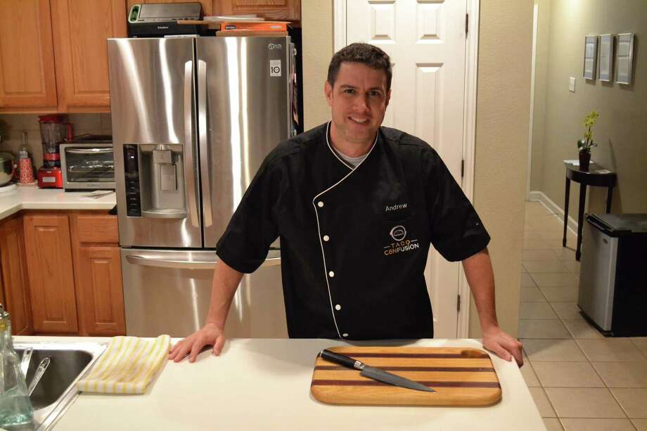 """Andrew Morgan, a physical therapist in San Antonio, recently won an episode of """"Cooks vs. Cons"""" on Food Network. Photo: Courtesy Photo"""