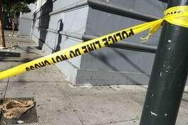 police tape, SFPD