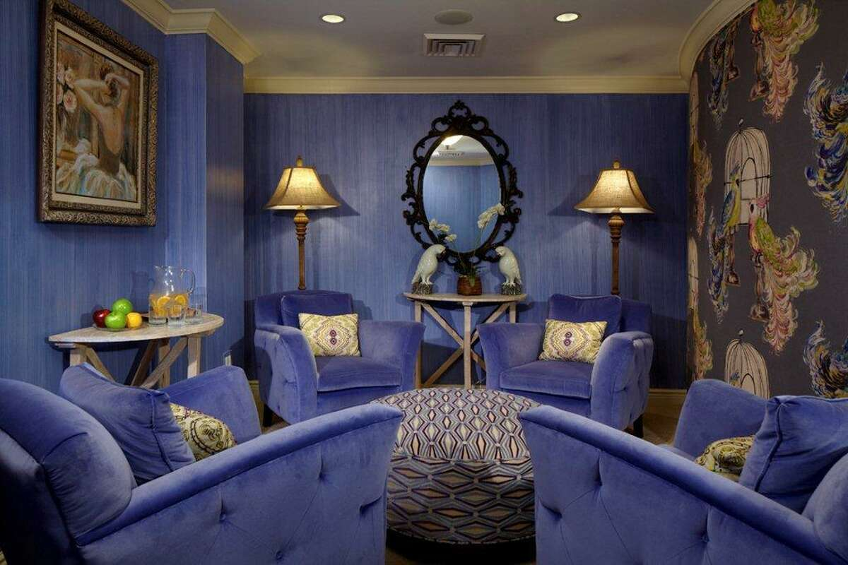Relaxation room at the spa at Delamar. Spa directors say even a simple massage has benefits like helping lower blood pressure, relieving stress and muscle tension and promoting lymphatic drainage.