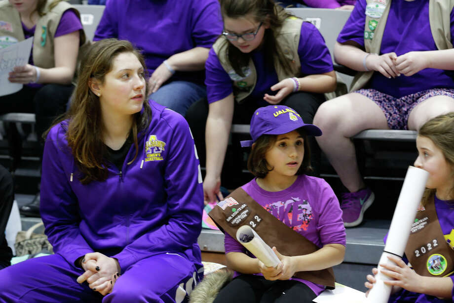 Were you Seen at the UAlbany women's basketball game against Hartford at SEFCU Arena in Albany on Saturday, January 28, 2017? The game kicked off Big Purple Growl Week at UAlbany. Photo: Paul Miller / University At Albany
