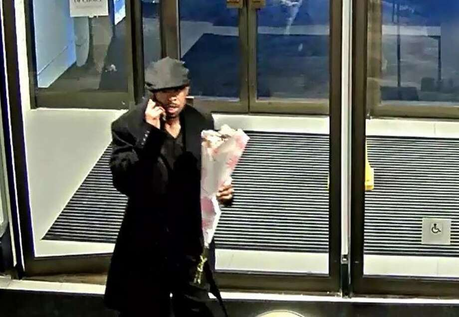 Police say this man is suspected of stealing two Rolex watches from Lord & Taylor in Stamford this month. Photo: Contributed / Stamford Police Department