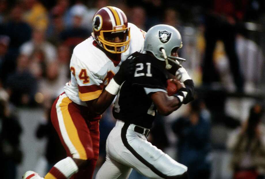 Cliff Branch, a Worthing High School graduate, was a key member of three Super Bowl-winning squads for the Raiders after being plucked with the No. 98 pick in 1972. Photo: Focus On Sport, Contributor / 1984 Focus on Sport