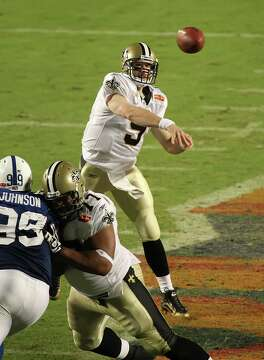 ... Saints  Drew Brees was named the game s MVP as the New Orleans Saints  beat the Indianapolis Colts 31-17 b3888b5d4