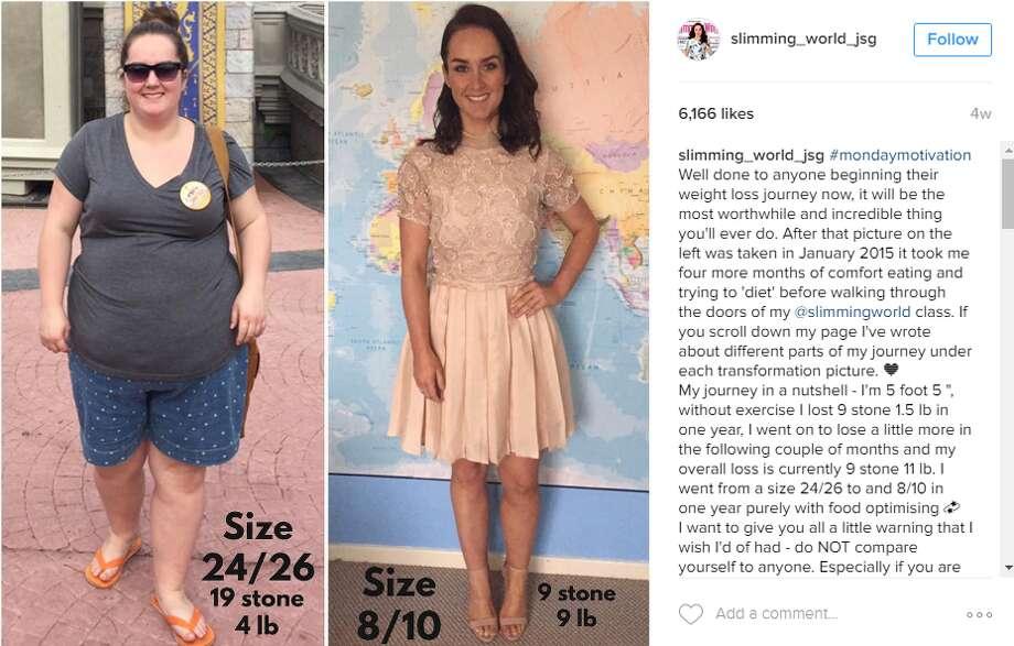 Disney trip shocks woman into shedding half her weight
