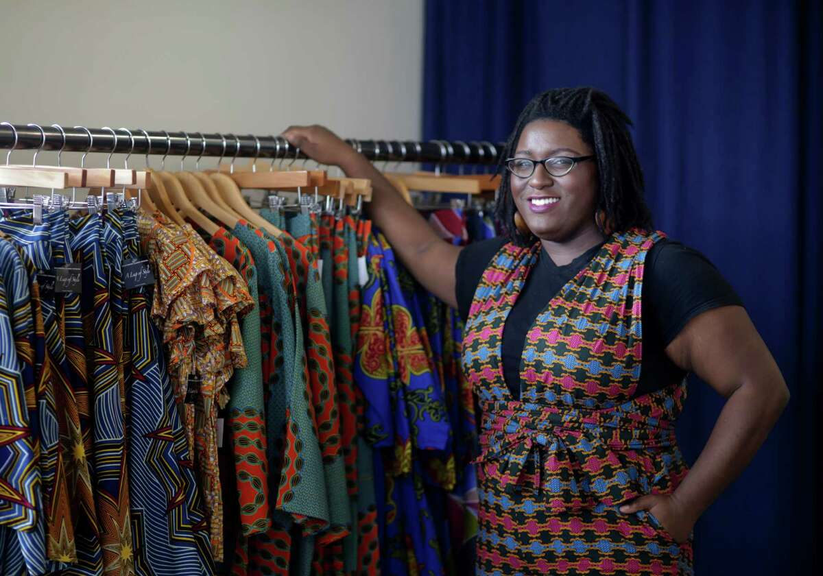 Karissa Lindsay's A Leap of Style is featured at a pop-up shop in Houston on Wednesday, Jan. 25, 2017.