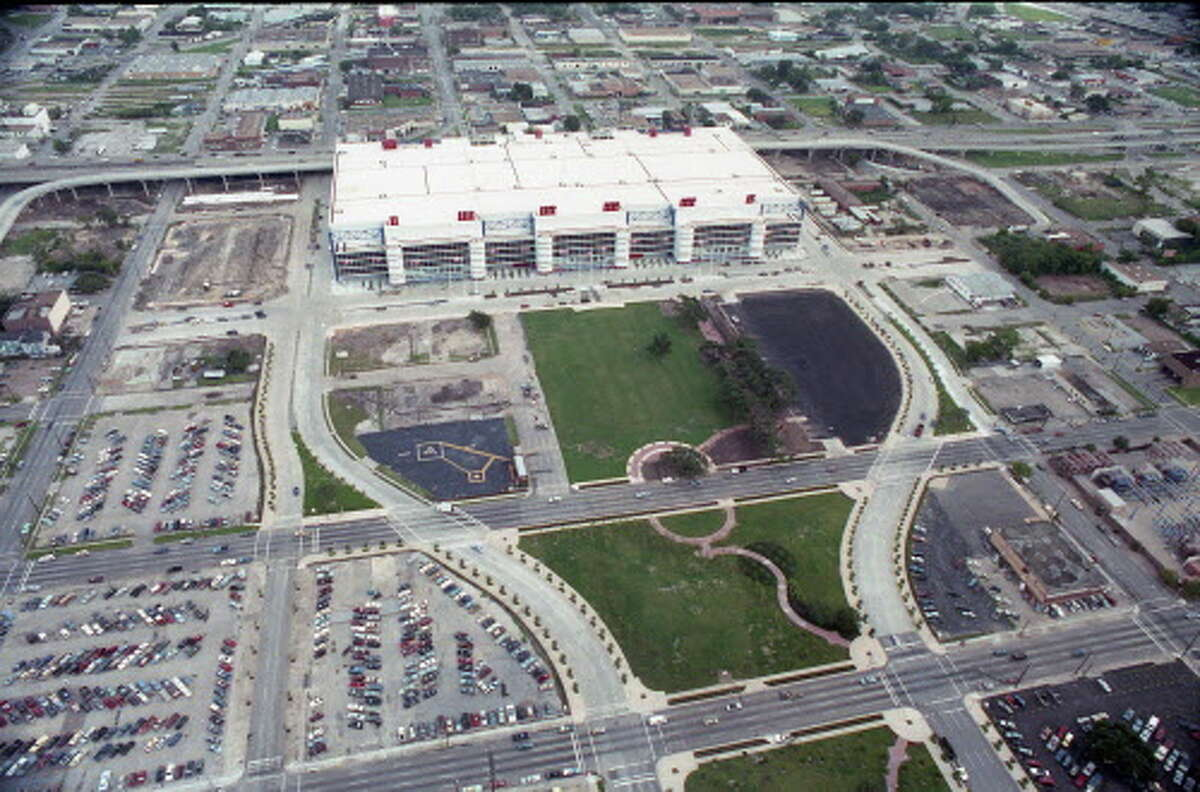 In 1987, the brand-new George R. Brown Convention Center seemed all alone on the east side of downtown Houston, surrounded by surface parking lots.