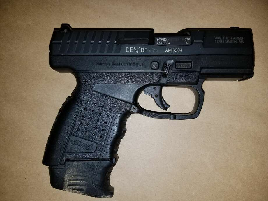 The King County Sheriff's Office believes this was the gun ditched by a 16-year-old boy while running from detectives investigating a hit-and-run slaying at Beaver Lake Park in Sammamish last week. A 17-year-old associate was killed while trading shots with authorities. Photo: King County Sheriff's Office