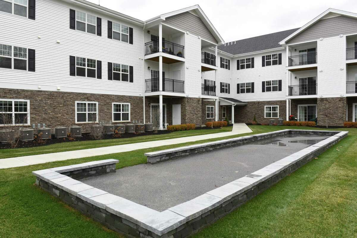 The bocce ball area is seen during the grand opening of The Summit at Saratoga on Thursday, Dec. 1, 2016 in Saratoga Springs, N.Y. The Summit at Saratoga is a 110-unit senior independent living community for those 55 and older. (Lori Van Buren / Times Union)