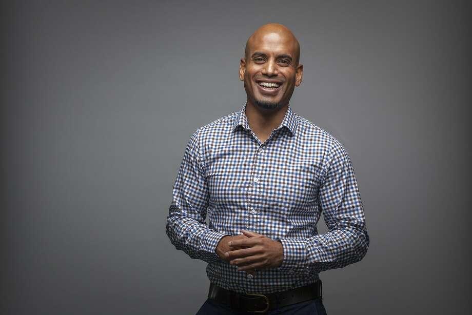 Raj Jayadev, CEO of Silicon Valley De-Bug in San Jose, works on criminal justice reform. Photo: Peter DaSilva