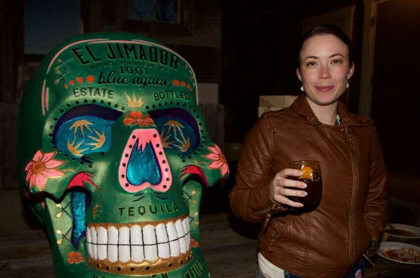 Amanda Carni is at The Bin. Photo By: Xelina Flores