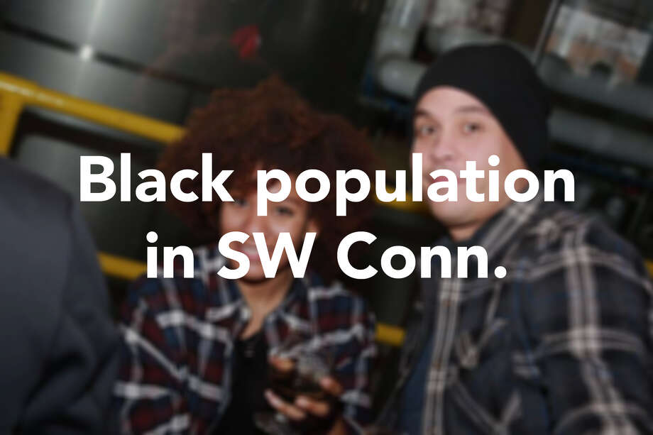 Based on the most recent U.S. Census data (2016), here is the breakdown of the black or African American population in southwestern Connecticut.