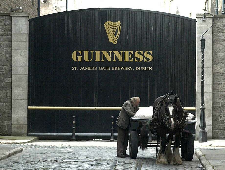 A file photo of the Guinness brewery in Dublin, a popular tourist attraction in Ireland. (AP Photo/John Cogill, File) Photo: JOHN COGILL / AP / AP