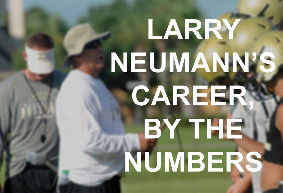 Larry Neumann's career by the numbers