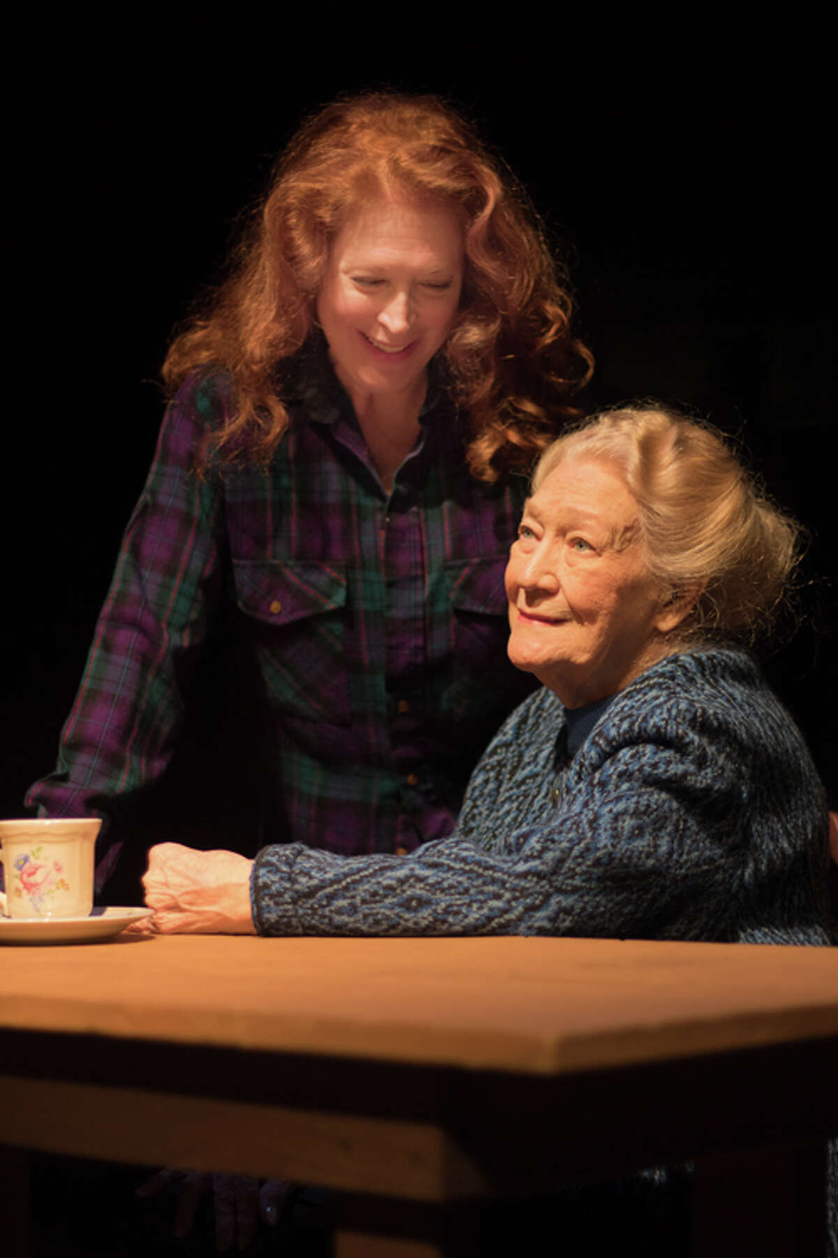 Mother and daughter Marietta and Allison Marich will perform in the Queensbury Theatre performances of Outside Mullingar.