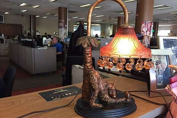 Monkey lamp is ugliest of all